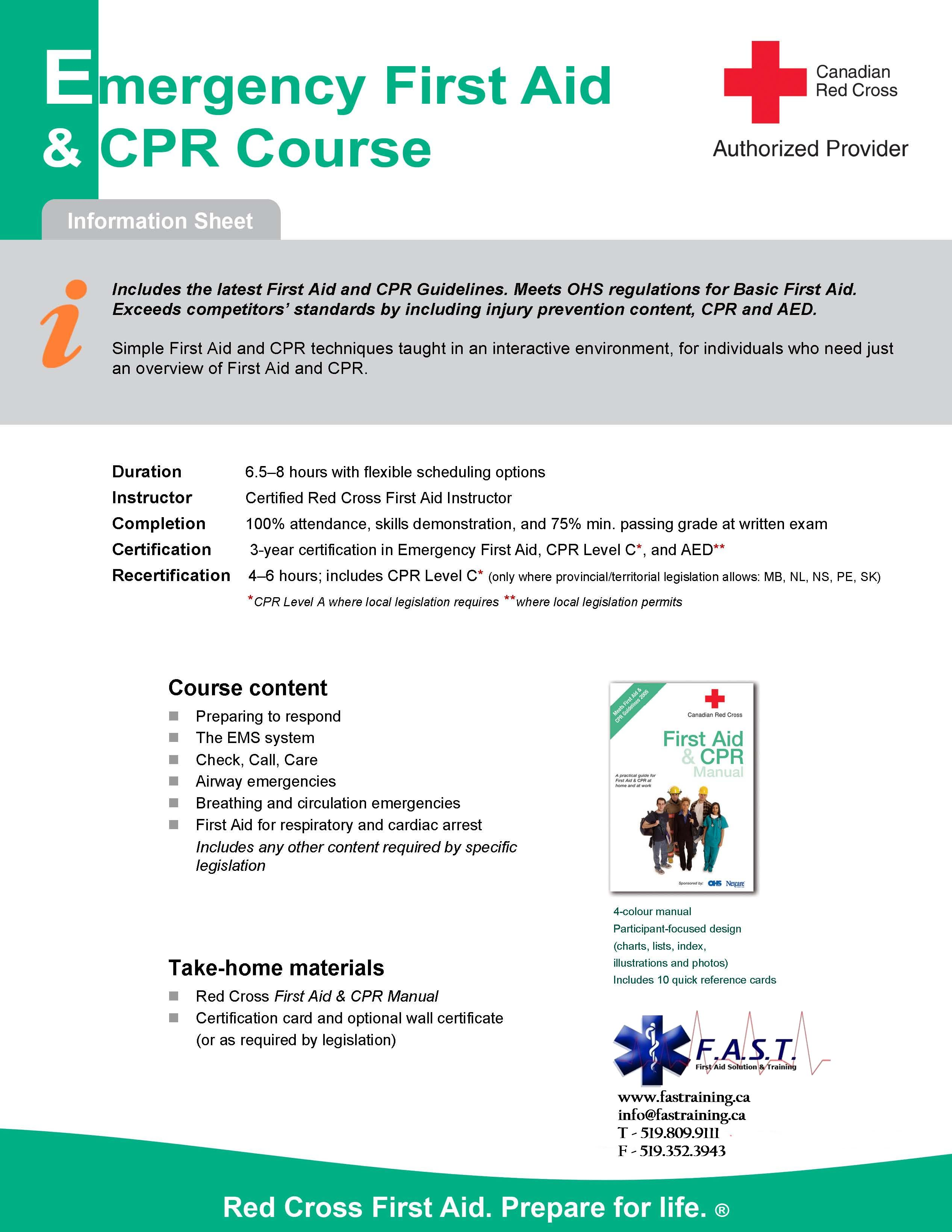 First Aid Solution Training