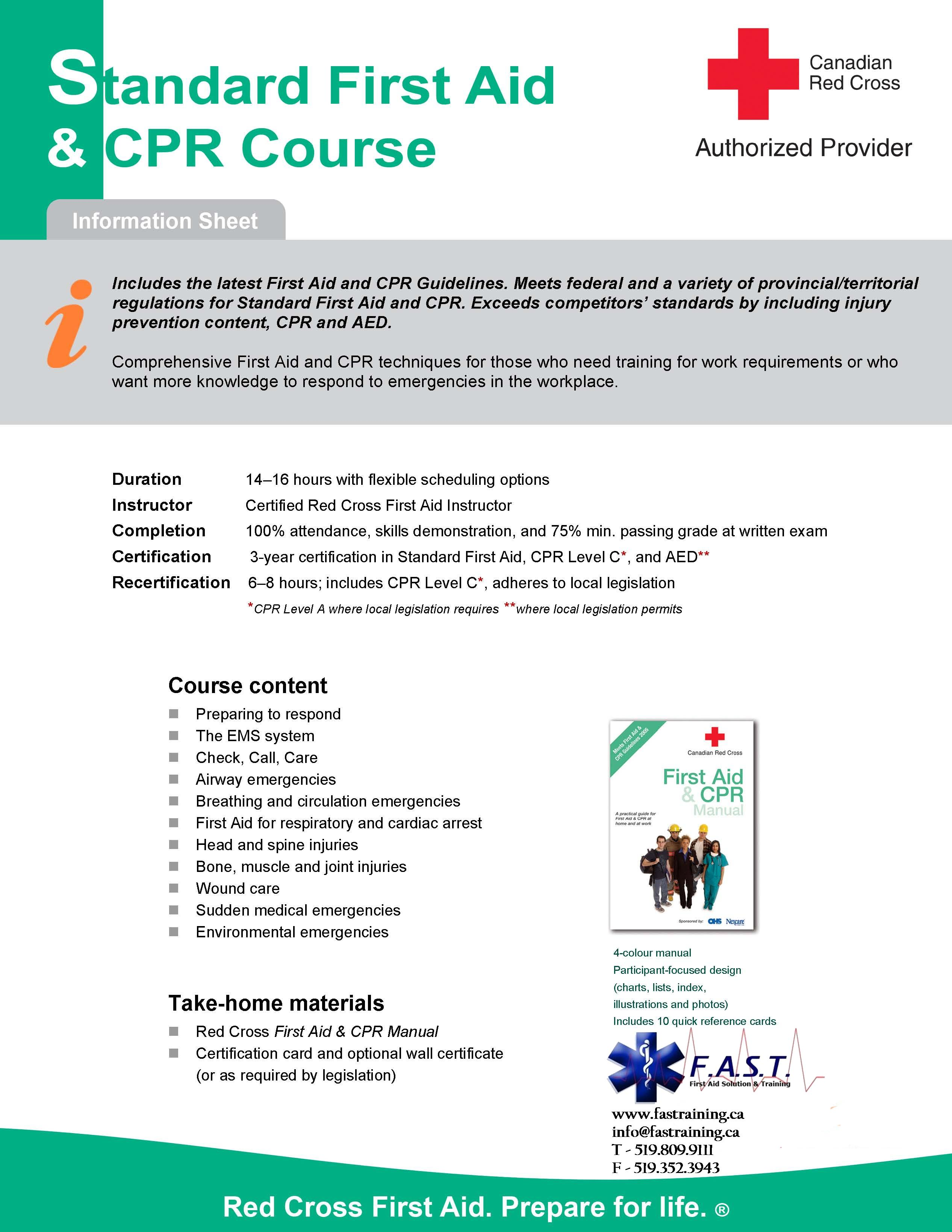 First Aid Cpr Course
